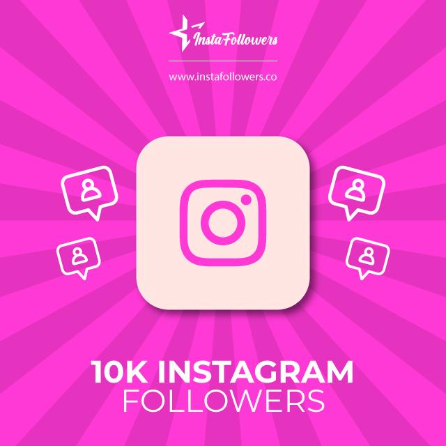 10k Instagram followers