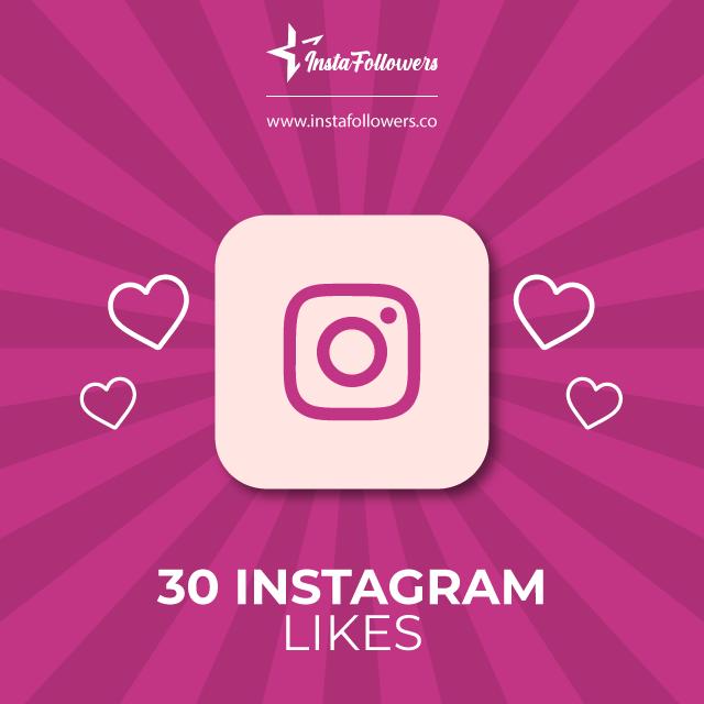 30 Instagram Likes