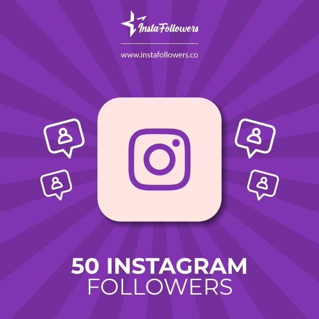 50 Instagram followers