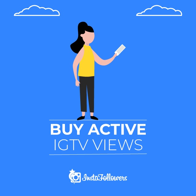 Buy Active IGTV views