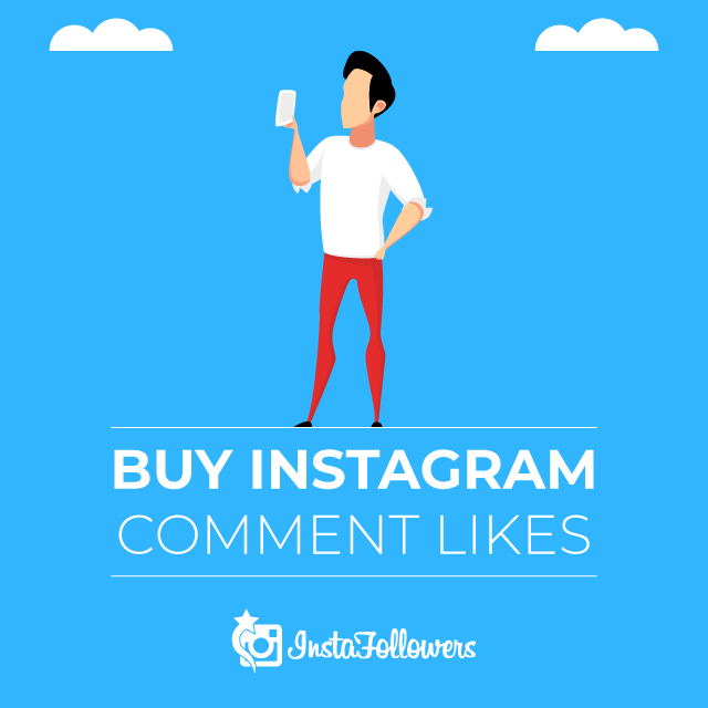 Buy Instagram Comment Likes - InstaFollowers