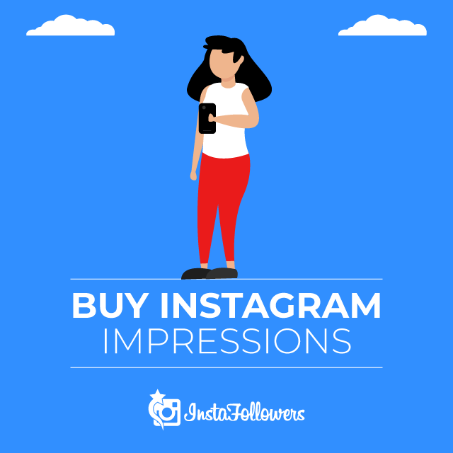 Buy Instagram Impressions & Reach with PayPal | Real, Cheap
