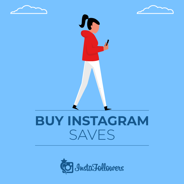 Buy Instagram Saves - 100% Active & Real