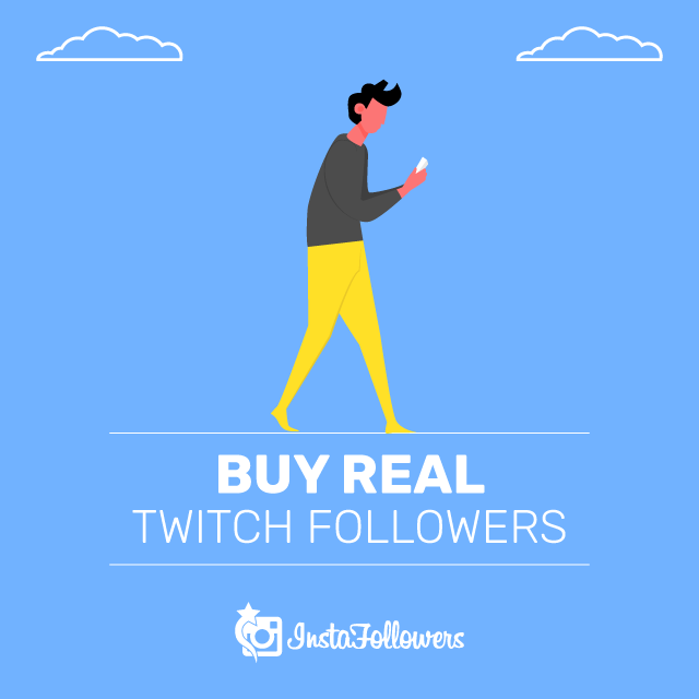 Buy Real Twitch Followers