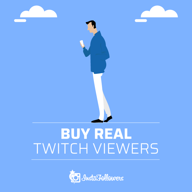 Buy Real Twitch Viewers