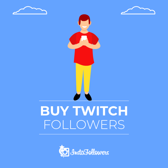 Buy Twitch Followers by PayPal - 100% Real & Active, Cheap