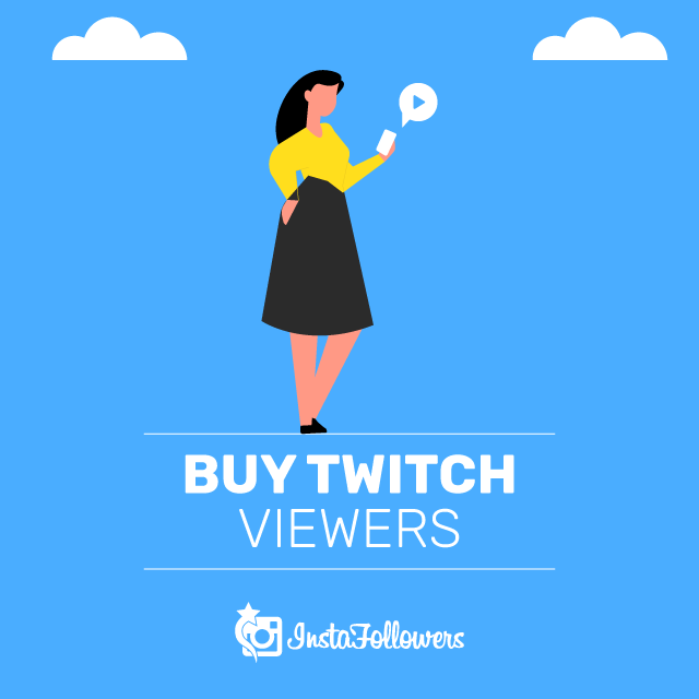 Buy Twitch Viewers with PayPal - 100% Real, Active & Cheap