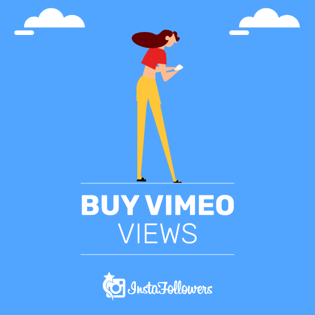 Buy Vimeo Views with PayPal - 100% Real,Active & Video Plays