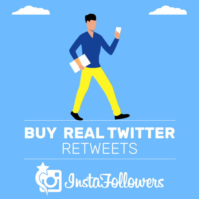 Buy Twitter Retweets 100% Active and Real $1.71 - InstaFollowers