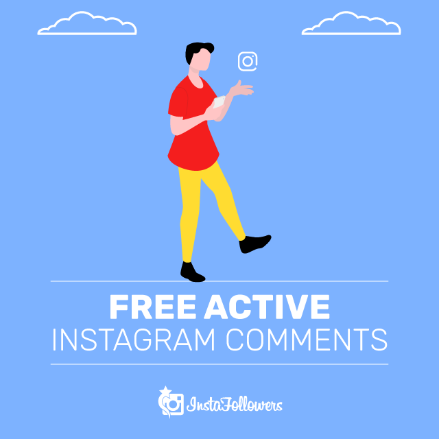 free active instagram comments