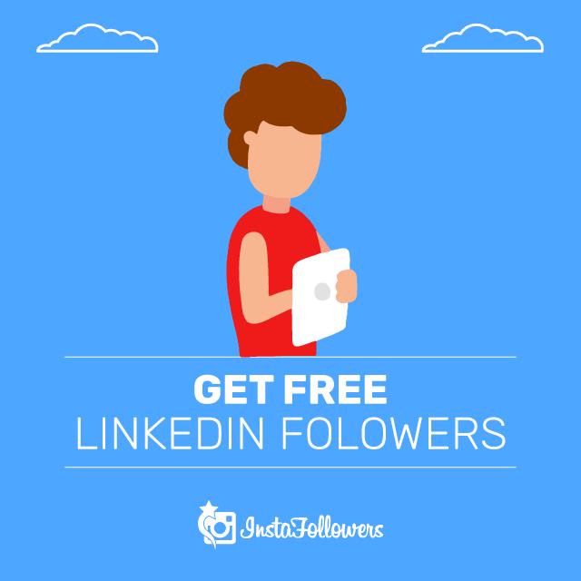 Get free linkedin followers