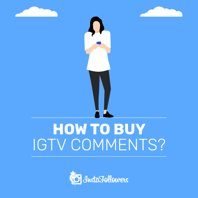 How to buy IGTV Comments