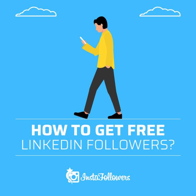 How to get free linkedin followers