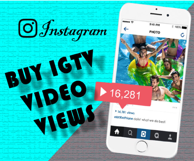 Buy IGTV Video Views 100% Active and Real $0.96 - InstaFollowers