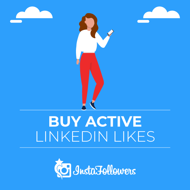 Buy Active Linkedin Likes