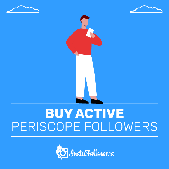 Buy Active Periscope Followers