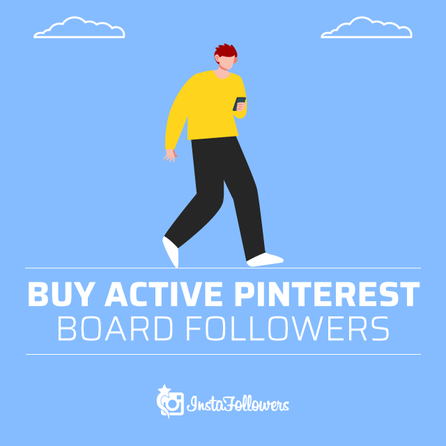 Buy Active Pinterest Board Followers