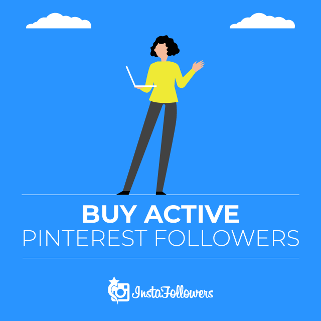 Buy Active Pinterest Followers