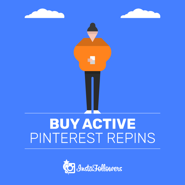 Buy Active Pinterest Repins