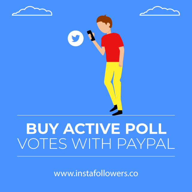 buy active poll votes with paypal