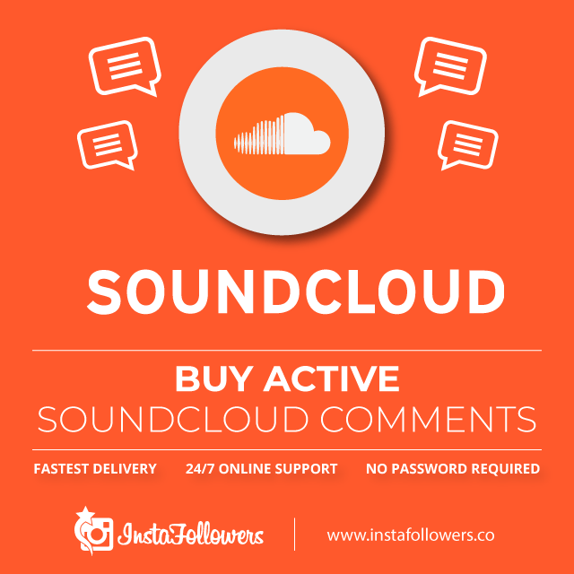 Buy Active SoundCloud Comments
