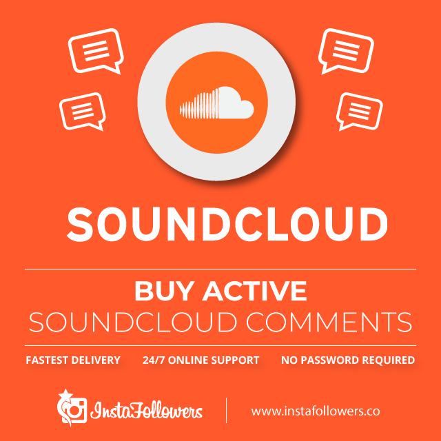 Buy Active SoundCloud Comments