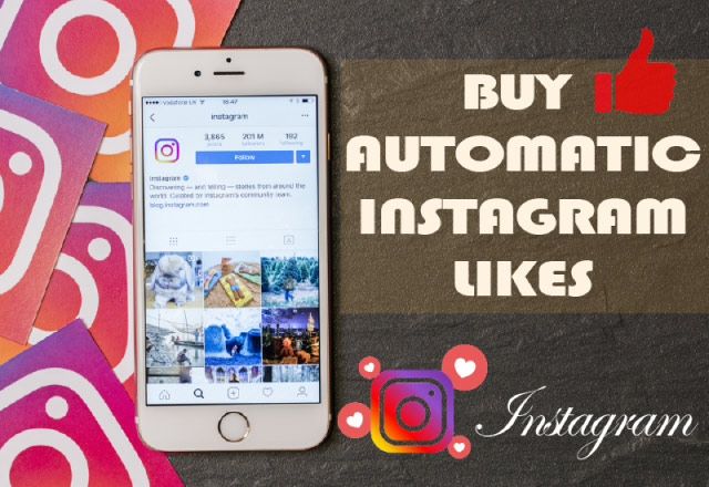 Buy Automatic Instagram Likes 100% Active and Real $7.40 - InstaFollowers