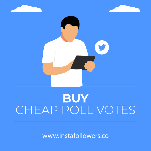 buy cheap Twitter poll votes