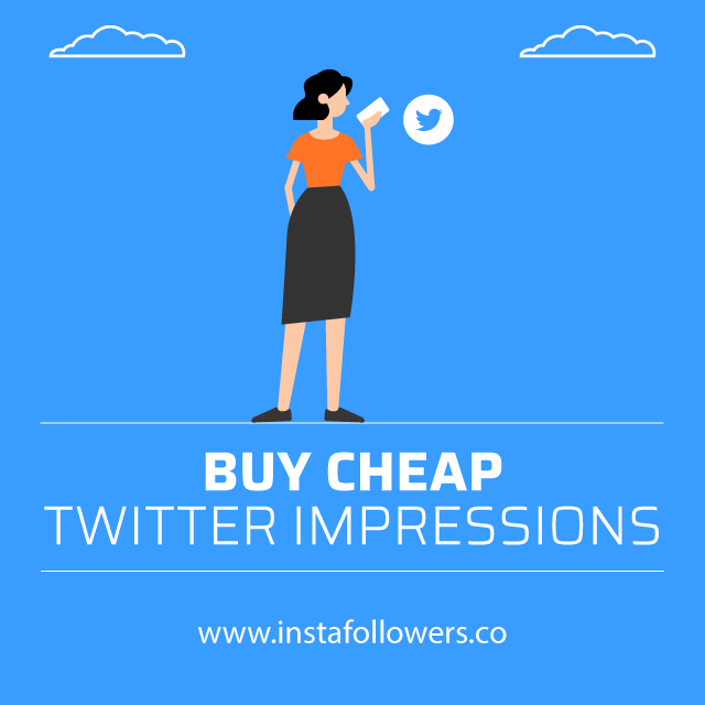 Buy Cheap Twitter Impressions