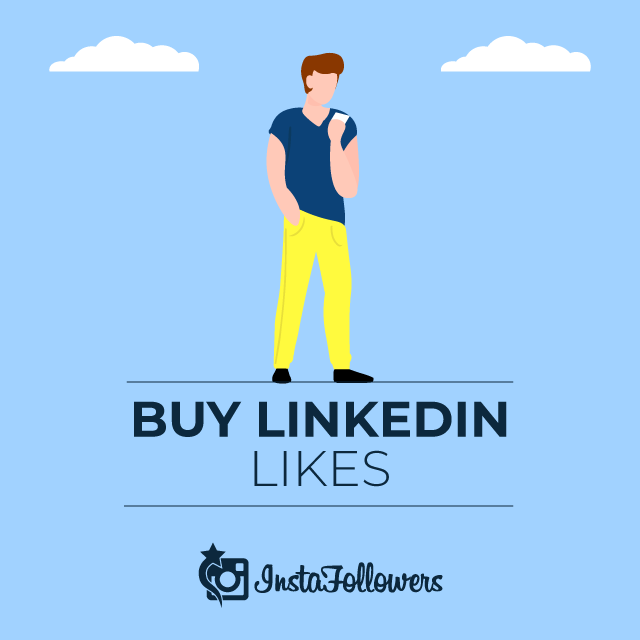Buy Linkedin Likes & Real and Active