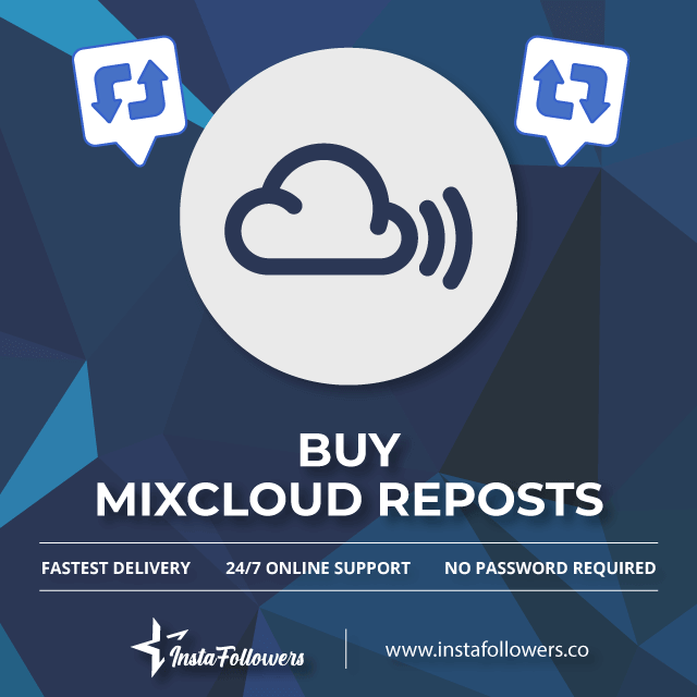 Buy Mixcloud Reposts with PayPal - Real, Active & Cheap
