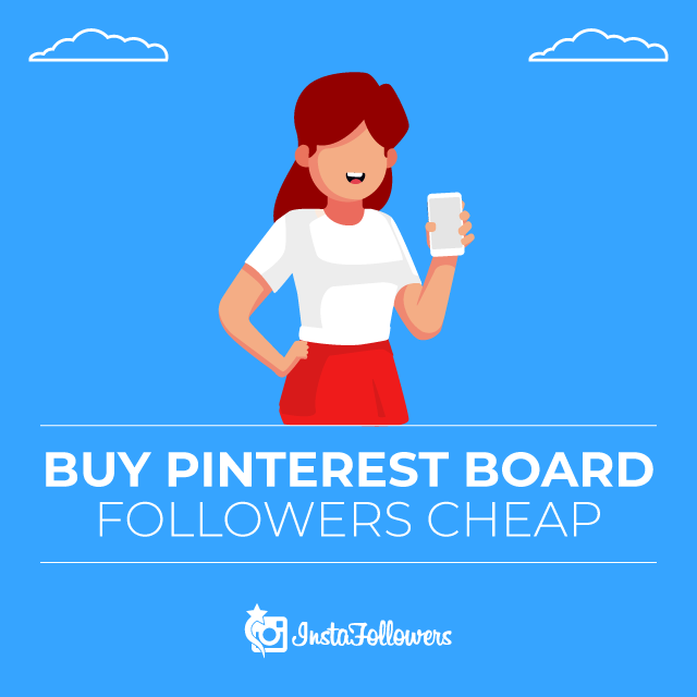 Buy Pinterest Board Followers Cheap