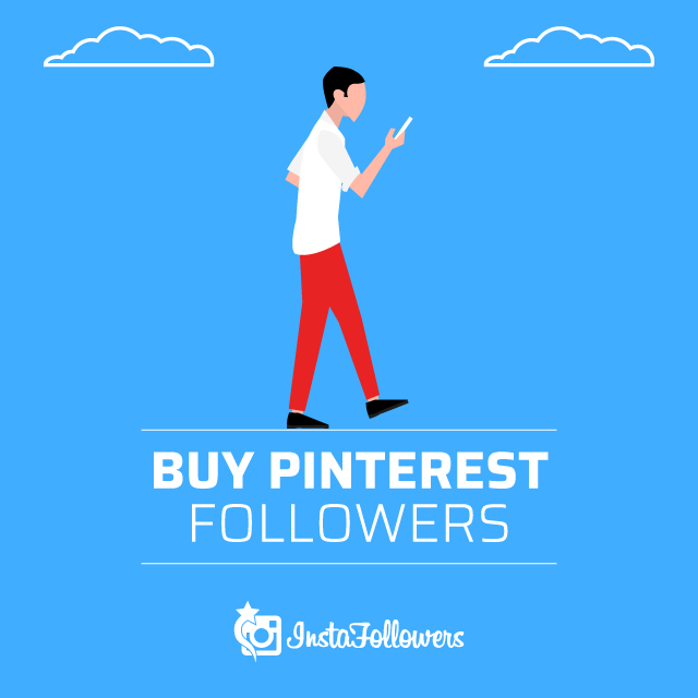 Buy Pinterest Followers - 100% Real & Active