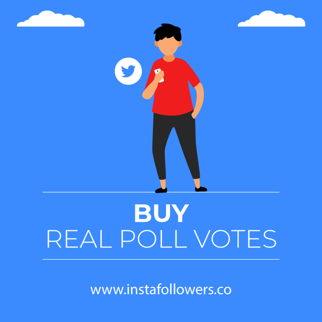 Buy Real poll votes