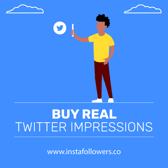 Buy Real Twitter Impressions