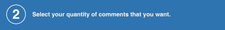 comments quantity