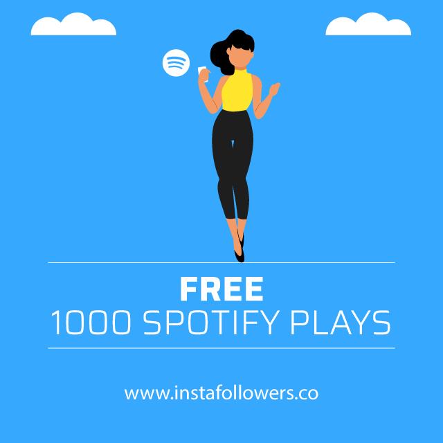 Free 1000 Spotify Plays