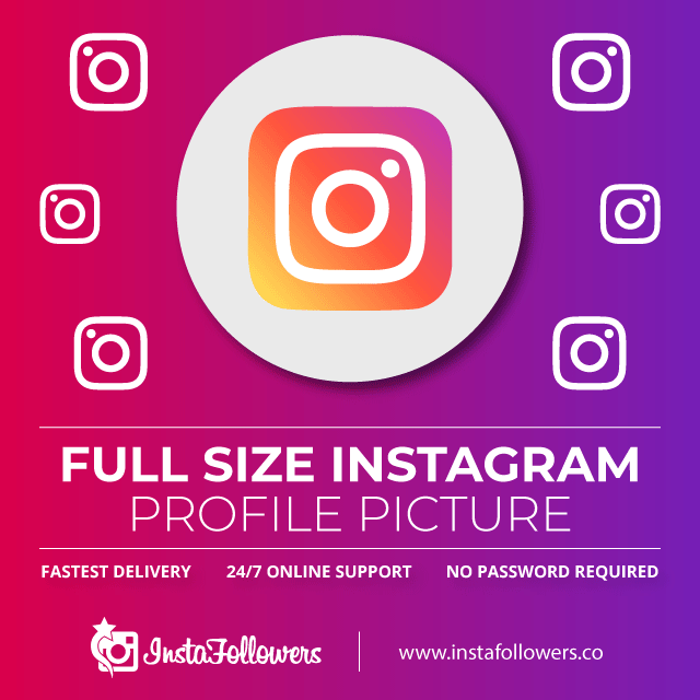Full Size Instagram Profile Picture