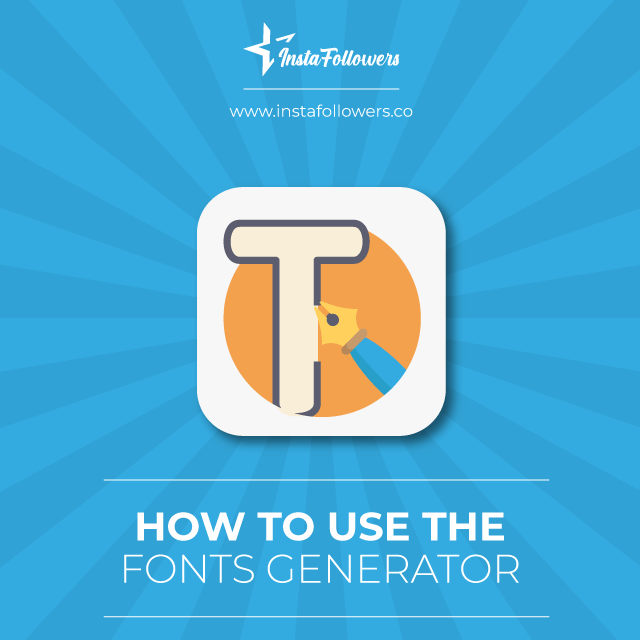 how to use font generator