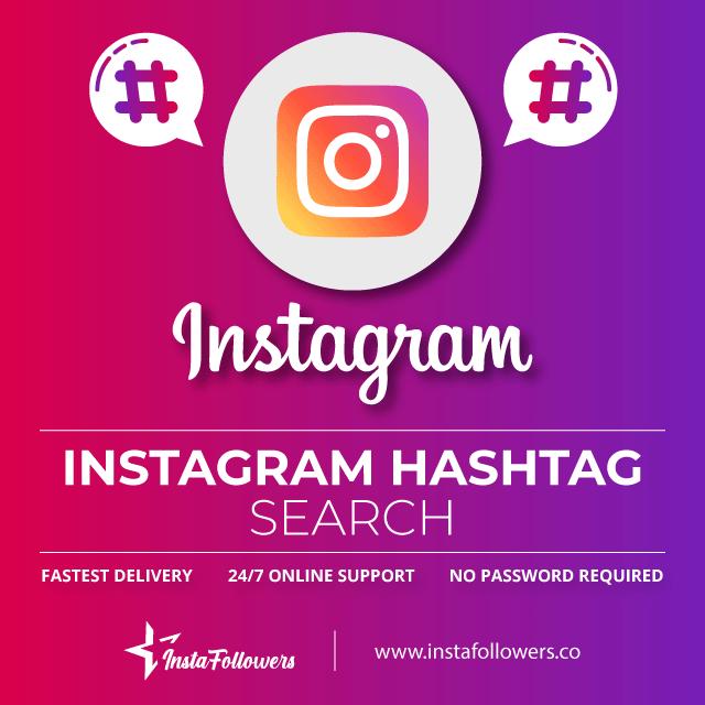 Instagram hashtag searcher