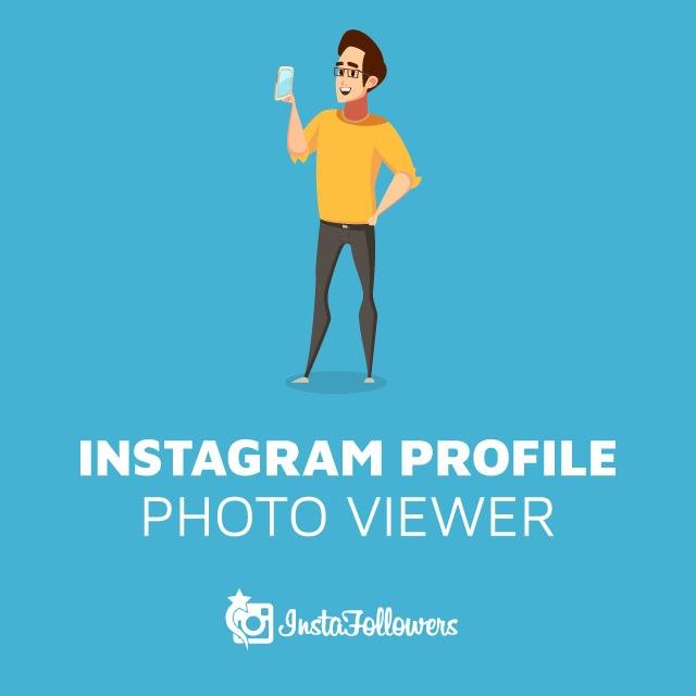 instagram profile photo viewer