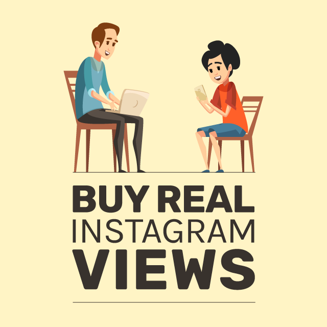 Real Instagram Views