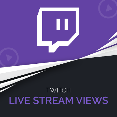 Buy Twitch Live Stream Views