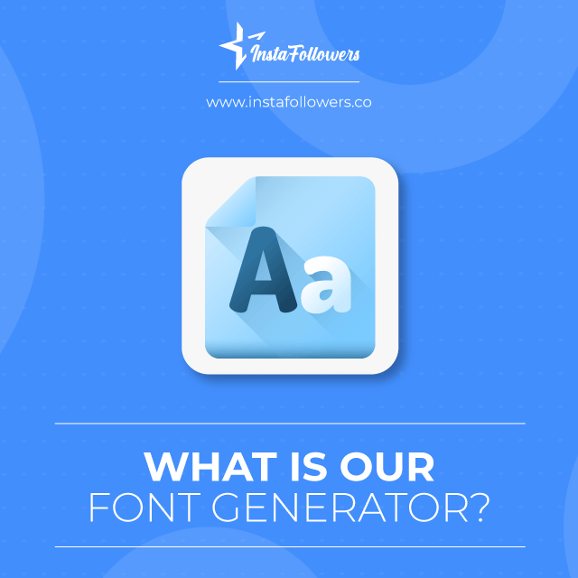what is font generator