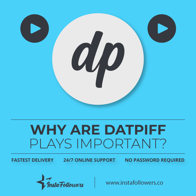 why are datpiff plays important